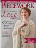 Piecework Magazine May/June 2016 ~ 4 only ~ Save 25%!