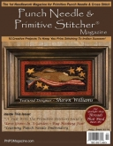 Punch Needle ~ Primitive Stitcher Magazine ~ August/September 2015