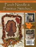 Punch Needle & Primitive Stitcher Magazine ~ Fall 2016 ~ 8 only!