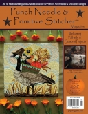 Punch Needle & Primitive Stitcher Magazine ~ Fall 2017 ~ 2 only!