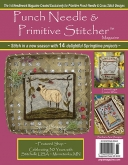 Punch Needle & Primitive Stitcher Magazine ~ Spring 2018 ~ 6 only!
