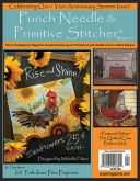 Punch Needle & Primitive Stitcher Magazine ~ Summer 2016 ~  8 only ~ Save 25%!