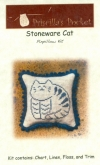 Stoneware Cat Pinpillow Limited Edition Kit from Priscilla's Pocket