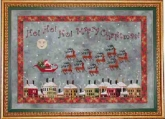 Santa's Midnight Flight from Praiseworthy Stitches
