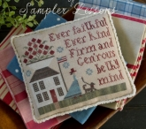 Serial Bowl Collection ~ Sampler Lesson Two Chart from Plum Street Samplers