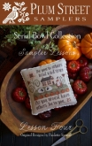 Serial Bowl Collection ~ Sampler Lesson Four Chart ~ Plum Street Samplers