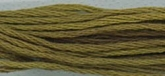 Pea Pod ~ 183 ~ Hand dyed cotton floss from Classic Colorworks ~ 5 yard skein