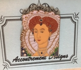Queen Elizabeth I Magnet from Accoutrement Designs