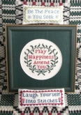 Blessings and a Quip from Queenstown Sampler Designs ~ 1 only!