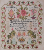 Lydia Sharp 1848 from Queenstown Sampler Designs