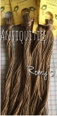 Antiquities hand dyed cotton floss from Romy's Creations ~ Nashville 2018