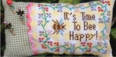 Time to Bee Happy Pincushion from Romy's Creations ~ Nashville 2017 ~ 1 only!