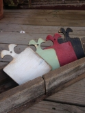 Primitive Painted Hornbook from Retromantic Fripperies