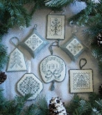 Christmas Blues from Rosewood Manor ~ over 30 Christmas Ornaments!