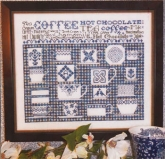 China Blue Sampler from Rosewood Manor ~ 1 only!