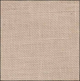 32 count Creme Brulee hand dyed linen from R & R Reproductions
