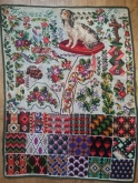 Franzi 1870 Reproduction Sampler from Reflets de Soie