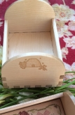 Busy Bees Wood Tray from Doodlin' Around Design ~ Parcel mail shipping