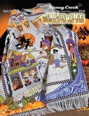 Halloween Village Collectors Series Afghan from Stoney Creek
