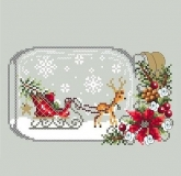 Sleigh Snow Globe from Shannon Christine Designs