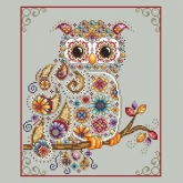 Paisley Owl from Shannon Christine Designs