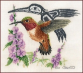 Rufus Hummingbird from Sue Coleman / The Stitching Studio