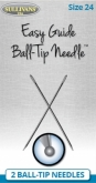 Easy Guide Ball-Tip (Tapestry) Needles, Sizes 24,26 or 28 from Sullivans