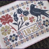 Coverlet Candle Mat from the Scarlett House