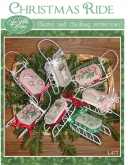 Christmas Ride ~ Sleds from Sue Hillis Designs