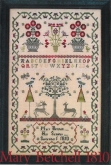 Mary Betchell 1810 ~ Sampler from The Scarlett House