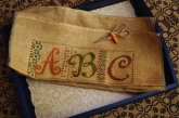 Calico Sampler ~ ABC from Summer House Stitche Workes