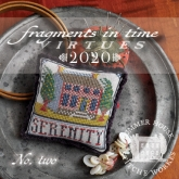 2020 Fragments in Time Series ~ 8 Pt Collector Program ~ Summer House Stitche Workes