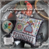 Chart #4 ~ 2020 Fragments in Time Series ~ Summer House Stitche Workes