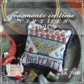 Chart #5 ~ 2020 Fragments in Time Series ~ Summer House Stitche Workes