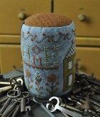 Home ~ Drum Roll Pynkeep Series #1 from Summer House Stitche Workes ~ Nashville 2017