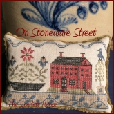 On Stoneware Street from The Scarlett House ~ Nashville 2018