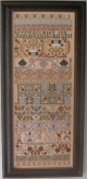 Mery Cox ~ a  17th Century Band Sampler Reproduction from the Scarlet Letter