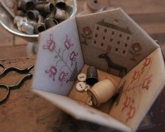 Rose Garden Sewing Basket ~ Nashville 2017 Exclusive Kit from Stacy Nash Primitives