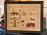 The Stables at Hollyberry Farm Sampler from Stacy Nash Primitives ~ Nashville 2020!