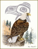 Eagle from Sue Coleman / Stitching Studio