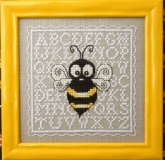 Biggie Bee ~ Chart & Buttons from the Bee Cottage/the Sweetheart Tree ~ Nashville 2017