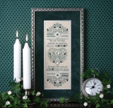 Irish Blessing Sampler from the Sweetheart Tree Reprint