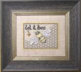 Let it Bee Chart Pack & Embellishments from the Bee Cottage/Sweetheart Tree ~ Nashville 2017