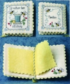 I'd Rather BEE Stitching Needlebook Chart/Embellishments from the Bee Cottage/Sweetheart Tree ~ 2 on