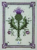 Tiny Thistle chart & embellishments from the Sweetheart Tree