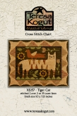 Tiger Cat ~ Cross Stitch from Teresa Kogut ~ Nashville 2018