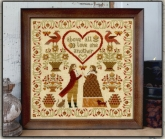 Above All ~ Cross Stitch from Teresa Kogut