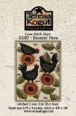 Bloomin' Hens ~ Cross Stitch from Teresa Kogut ~ Nashville 2019