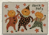 Dance Party ~ Cross Stitch from Teresa Kogut ~ Nashville 2018 ~ 1 only!