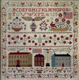 Land That I Love ~ Cross Stitch chart from Teresa Kogut